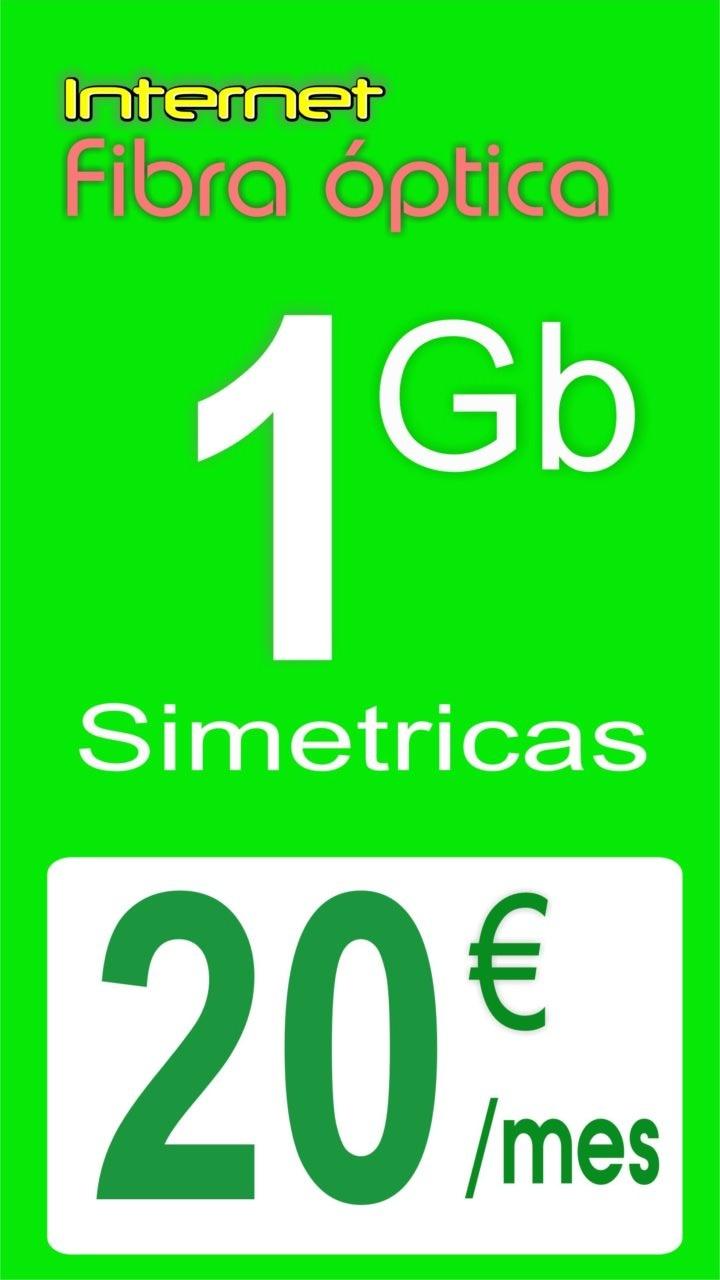 1gb fibra internet